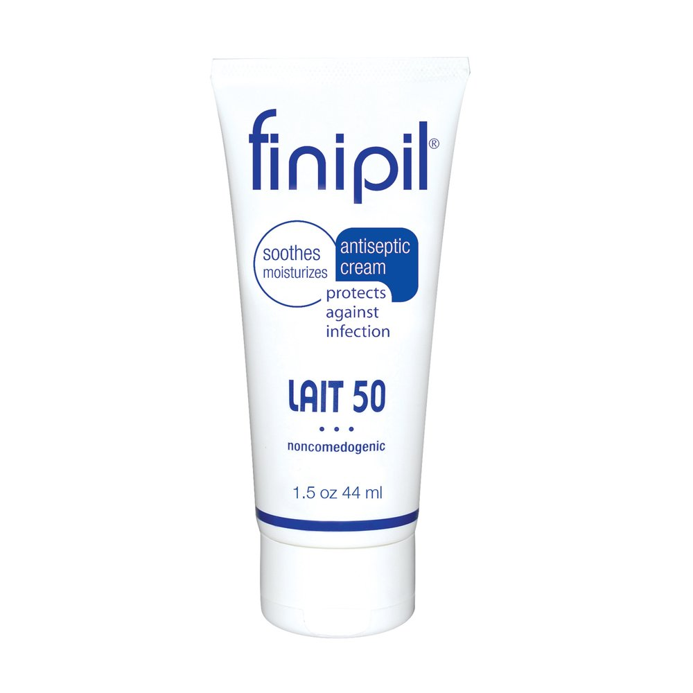 Finipil® - finipil® is an incredible antibacterial and antiseptic that destroys 99.9% of bacteria and has an endless number of uses. finipil does NOT clog pores like so many other greasy antiseptics, it actually cleans while moisturizing them. It cools and soothes the skin all while helping to protect hair follicles from infection.