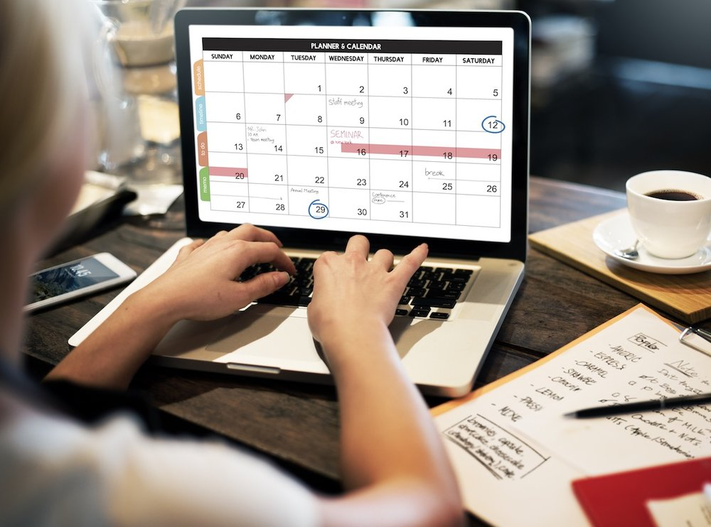 VIEW THE CALENDAR OF EVENTS - See what's coming up to help you plan!CLICK HERE to view calendar.