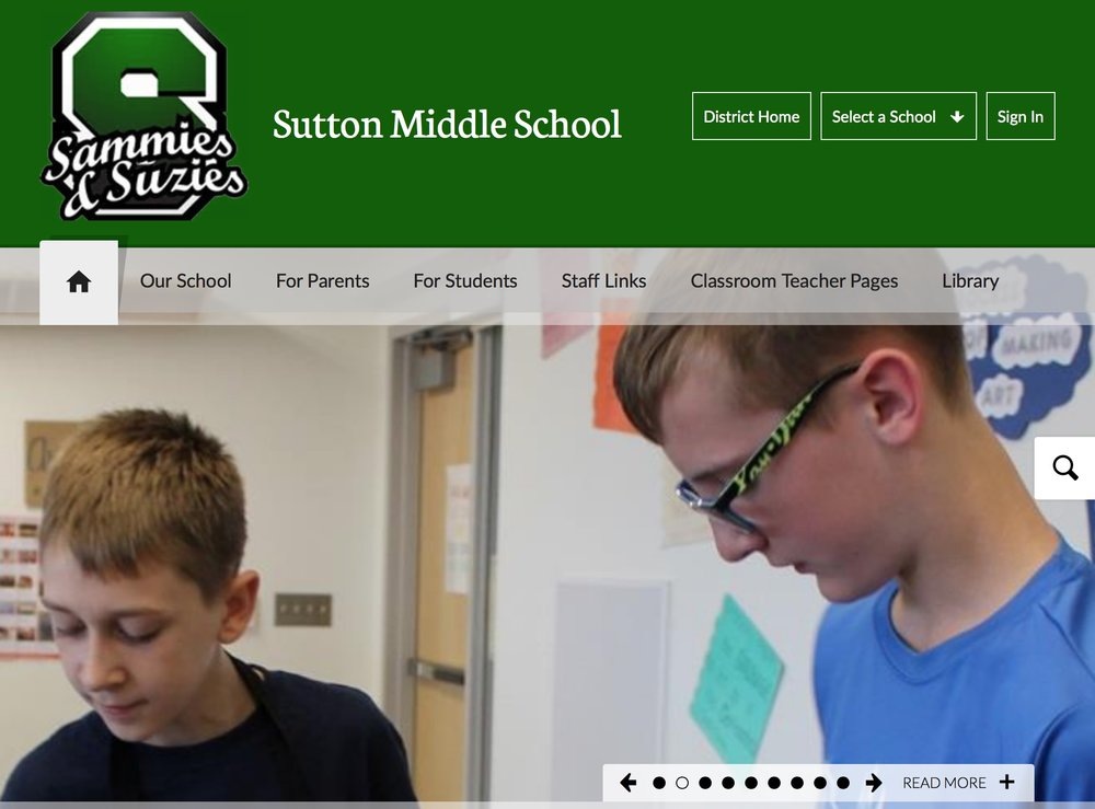 sutton middle school - Sutton Middle School website