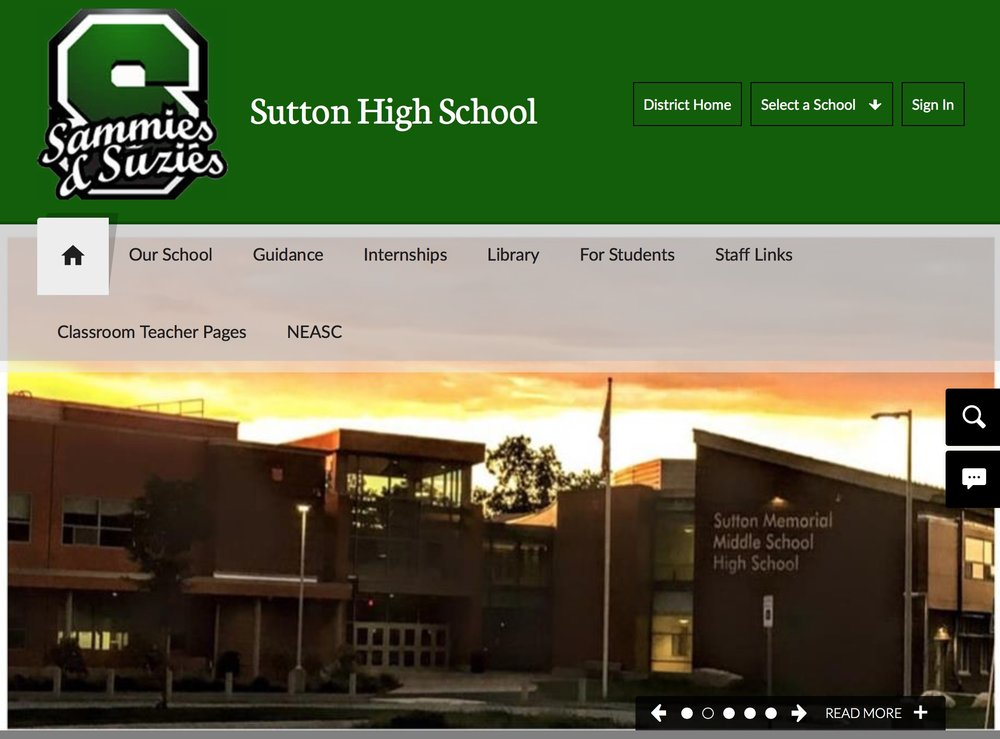 Sutton high school - Sutton high school website