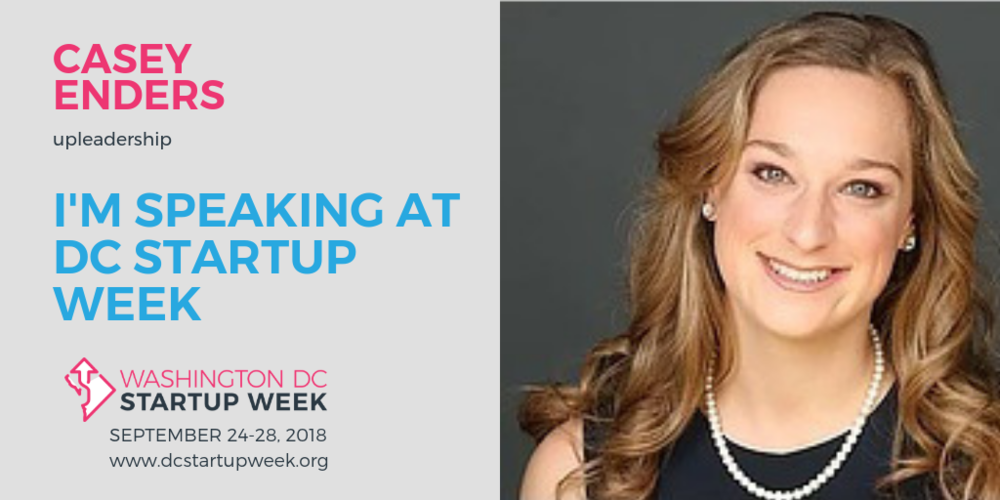 Unlocking Potential Foundation CEO Casey Enders & Managing Director Jeffrey Richardson Speak at DC Startup Week - On September 26, hear from Unlocking Potential's CEO & Managing Director about building leaders at every level.