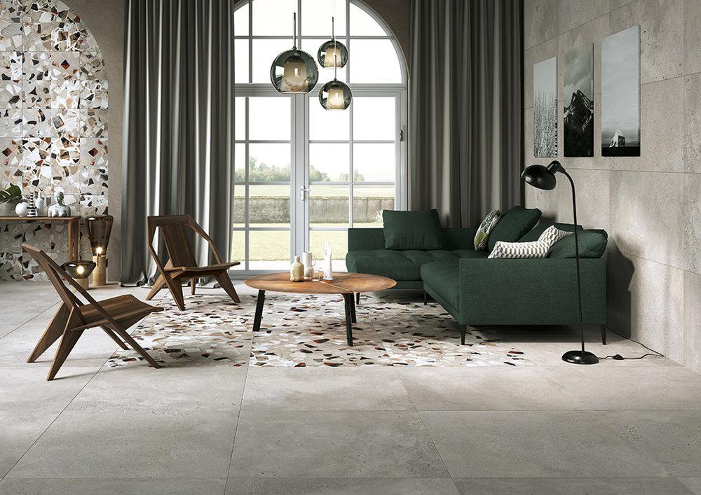 piastrelle-effetto-cemento_Ceramica-Fioranese_I-Cocci_Cenere-90x90-60x120_Cenere-Spaccato-90x90-30x30.jpg