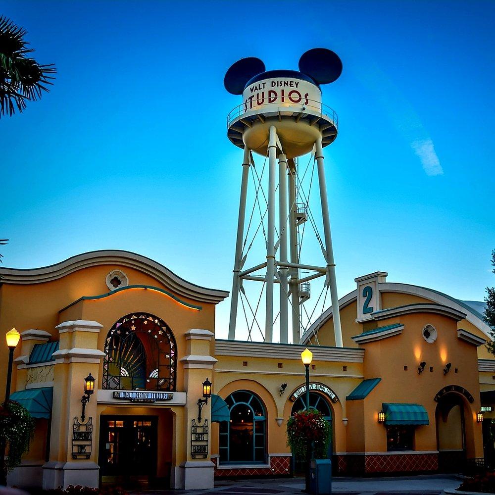 Walt Disney Studios pictured above.
