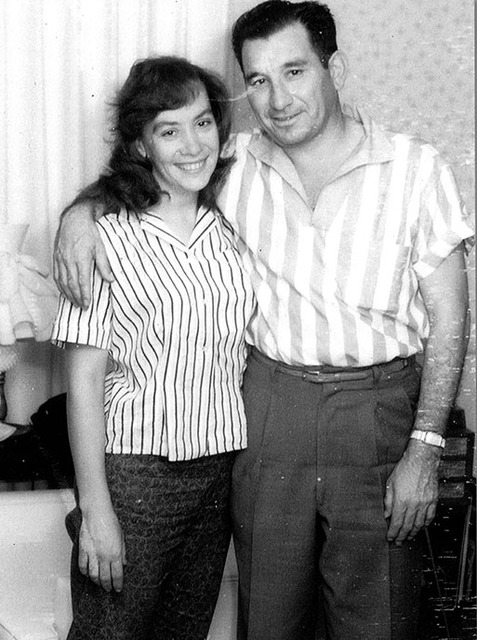 Phyllis And Charlie Frias Pictured Above. Photo: Las Vegas Review Journal.