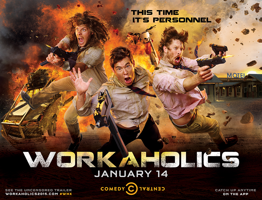 Comedy Central / Workaholics Campaign
