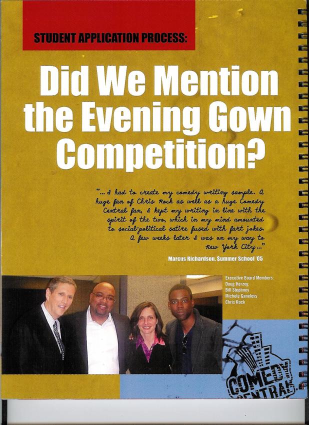 Comedy Central / Summer School Brochure Page 7