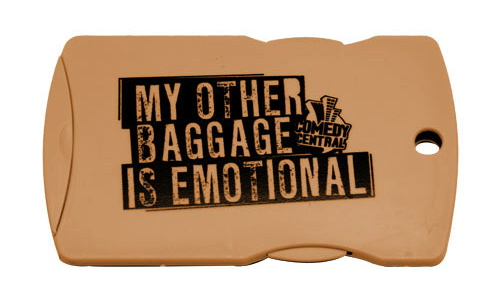 Comedy Central / Luggage Tag #1