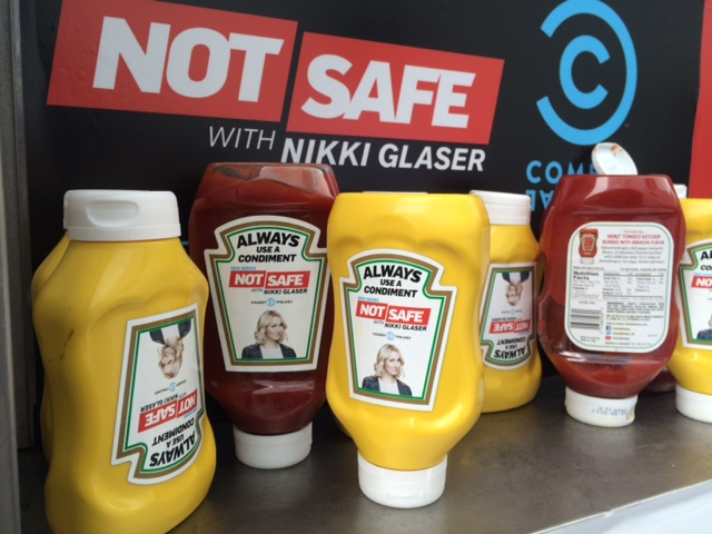 "Comedy Central / ""Not Safe"" Condiments"