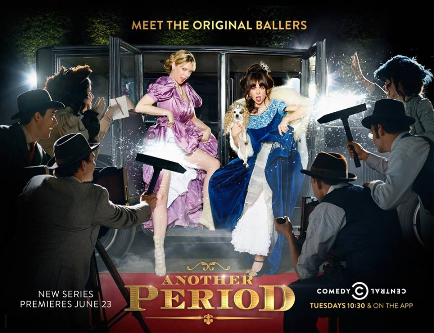 Comedy Central / Another Period Launch Campaign
