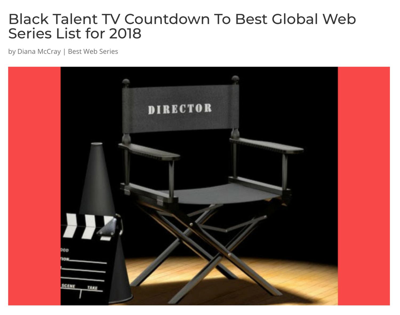 Black Talent TV: Best Web and Digital Series List for 2018 — Platonic