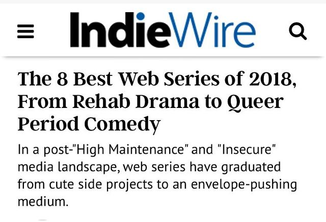 """Smart jokes, an easy chemistry between the actors... makes ""Platonic"" rise above the rest."" — What better way to start 2019 than to find out @indiewire wanted you to end 2018 with us! 🗣LETS GO!!! — Find the link to the article in the 'PRESS' section of our website. 😭🙏🏾"