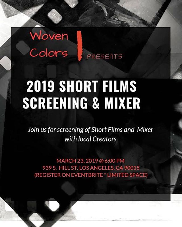 "Lookin' for something to do tomorrow night?! Look no further! We're screening ""The Janet"" and watching other great content by other POCs and mixing and mingling this wknd with @thewovencolors — join us! RSVP link in bio. See you there. 🙌🏾✨"