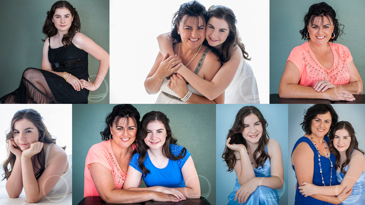 Mother & Daughter Portrait session