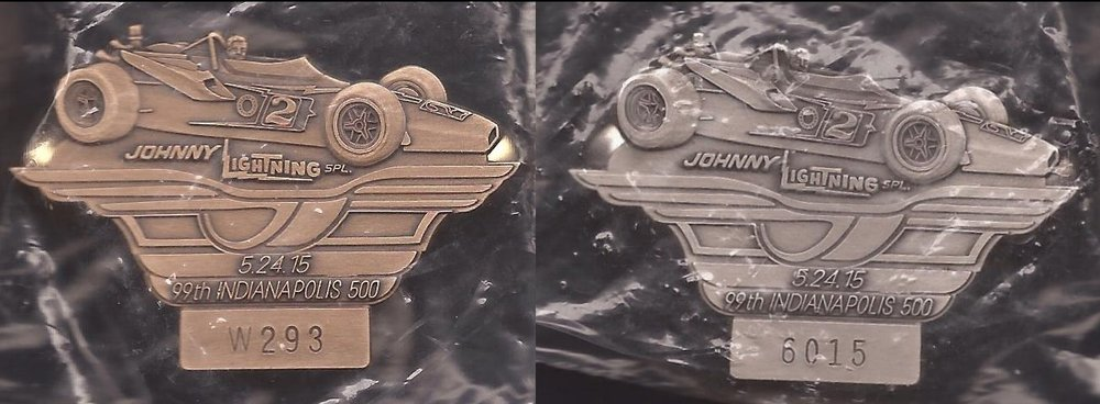 2010-Present Pit Badges — National Indy 500 Collector Club