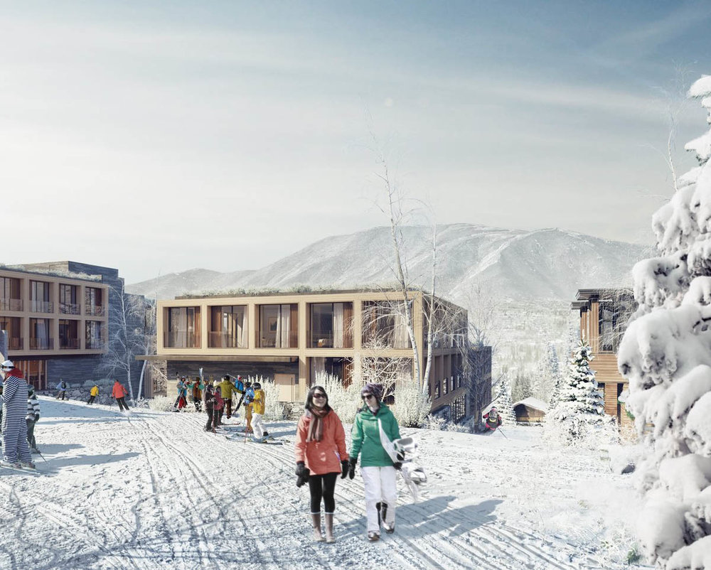 LODGING & DINING - Two new lodges at the base of the mountain with dining and après.