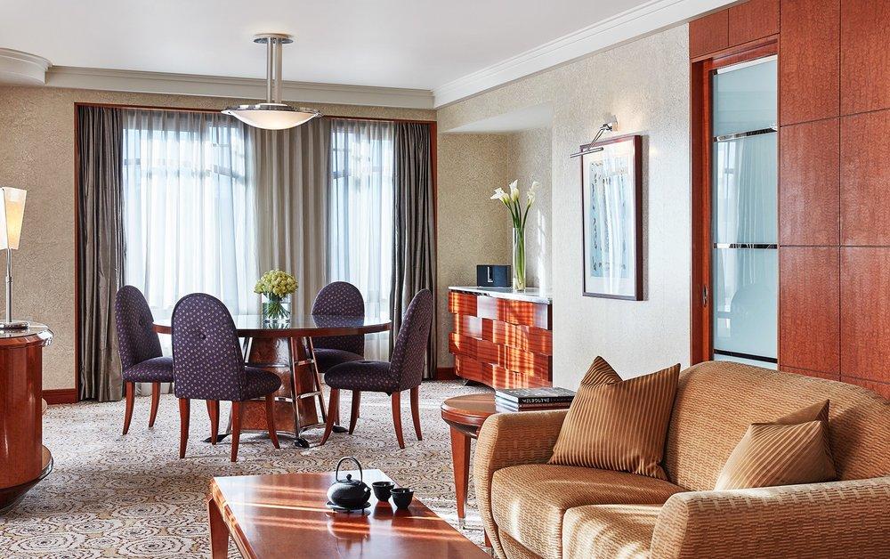 Living Room in Ambassador Suite at Park Hyatt Melbourne hotel