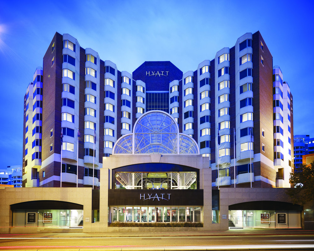 Hyatt Regency Perth exterior