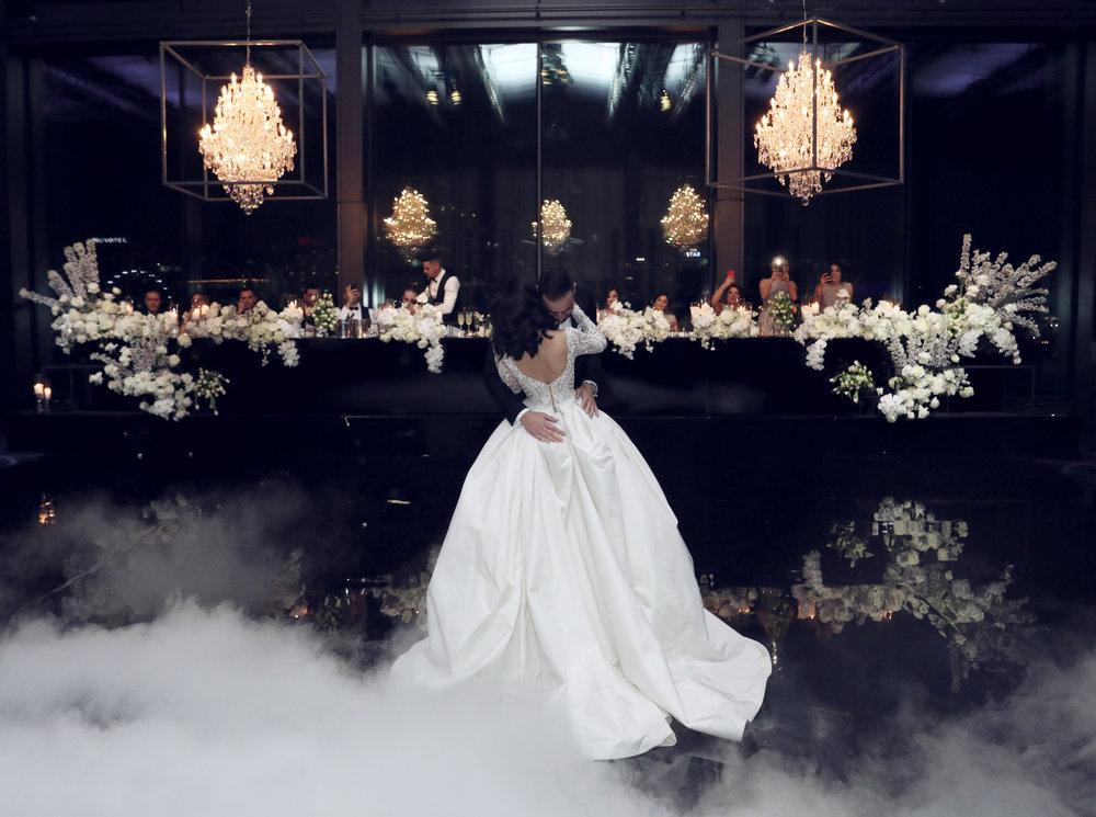 Wedding styling at waterfront venue in Sydney, Hyatt Regency Sydney