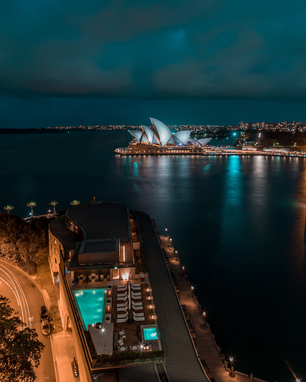 Opera House view at Park Hyatt Sydney Hotel