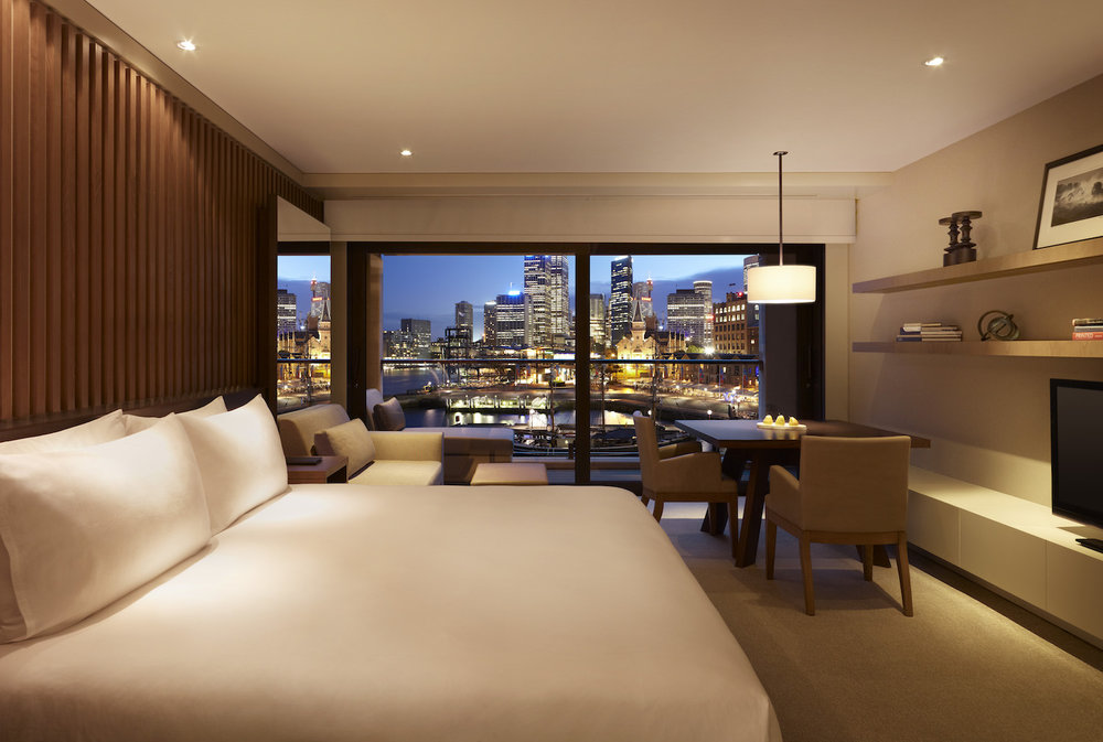 King Harbour View Room at Park Hyatt Sydney Hotel