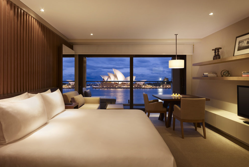 King Opera View Room at Park Hyatt Sydney Hotel