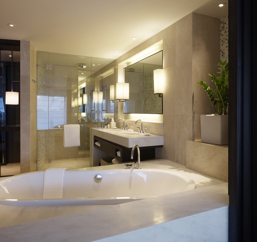 Harbourside King Opera Deluxe Bathroom at Park Hyatt Sydney Hotel