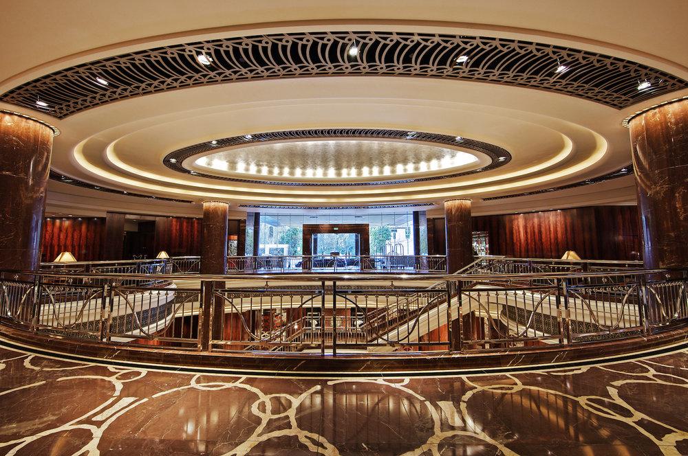 Lobby at Park Hyatt Melbourne Hotel