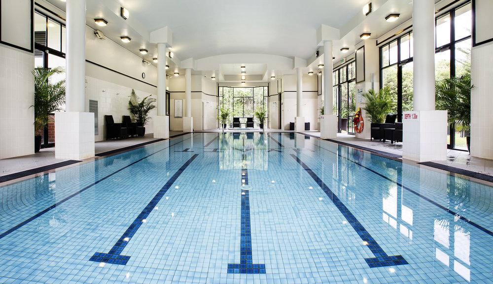Indoor pool at Hyatt Hotel Canberra