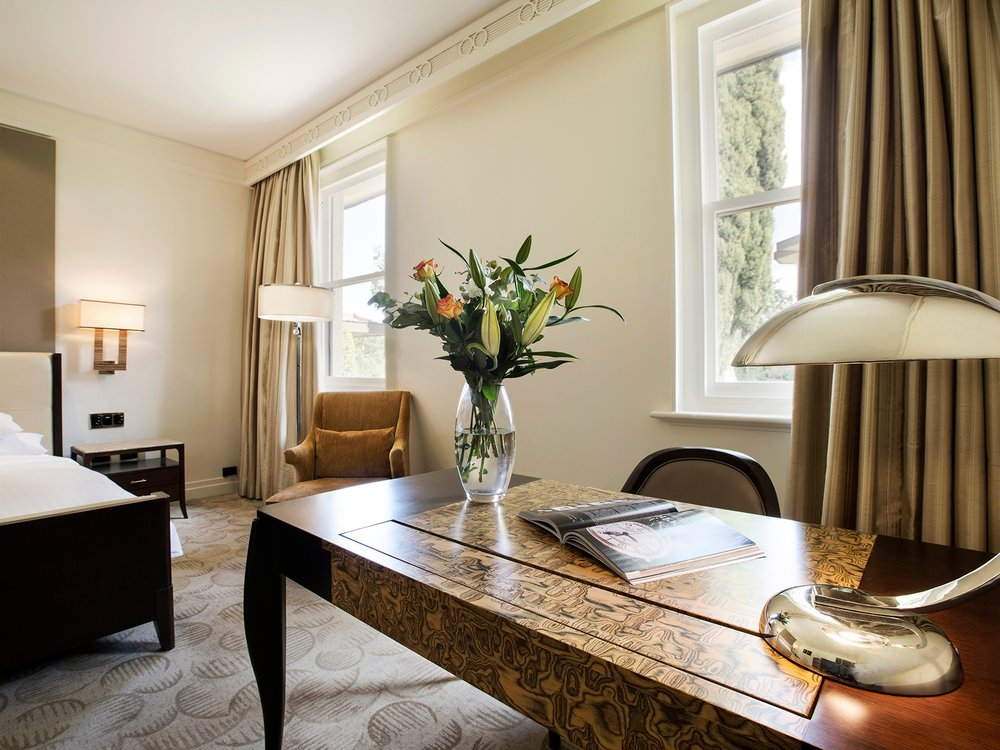 Park Deluxe King at Hyatt Hotel Canberra wedding accommodation