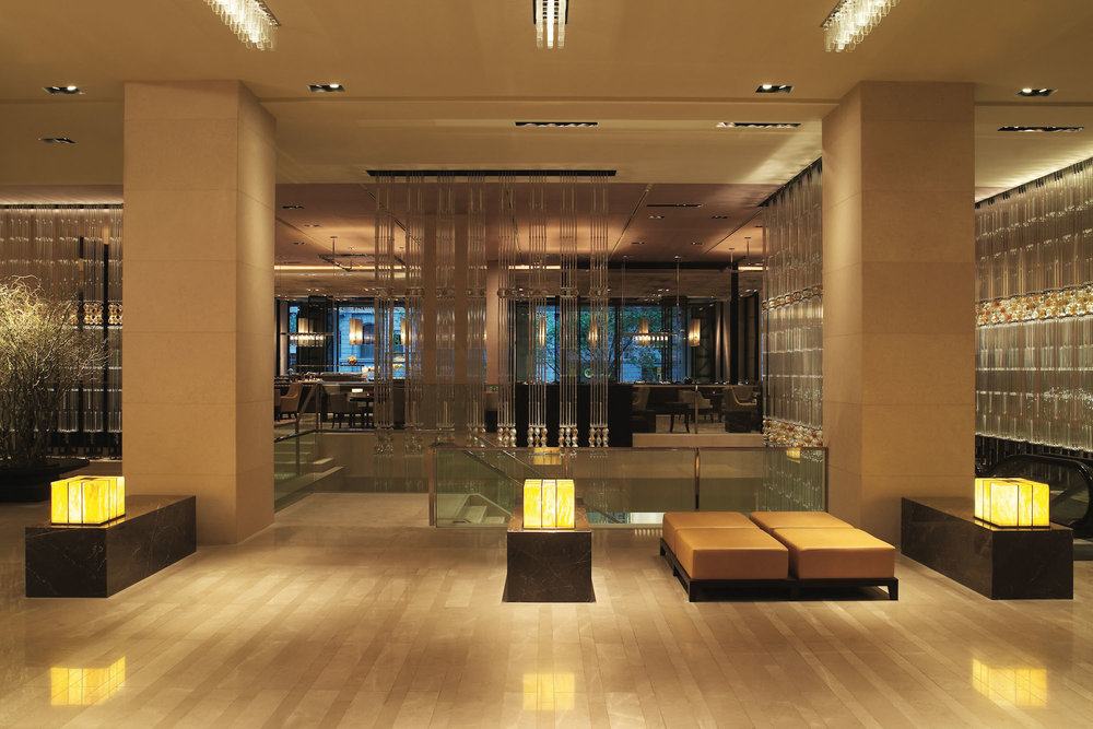 Lobby at Grand Hyatt Melbourne
