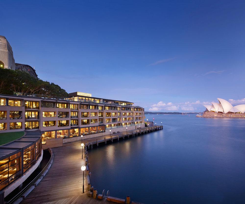 Park Hyatt Sydney harbourside wedding venue and accommodation in Sydney