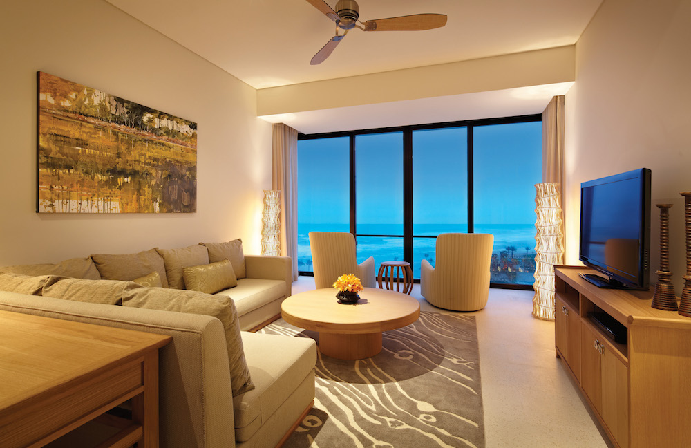 Honeymoon in Vietnam at Hyatt Regency Danang - Residence Lounge