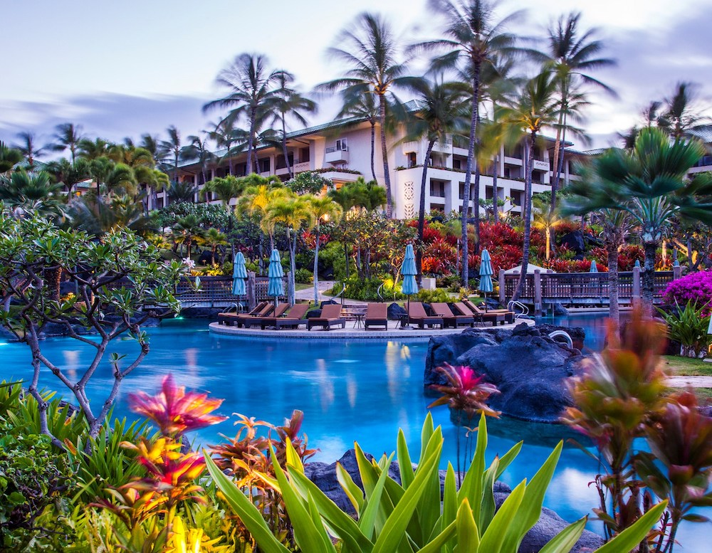 Honeymoon in Hawaii at Grand Hyatt Kauai - Pool.jpg