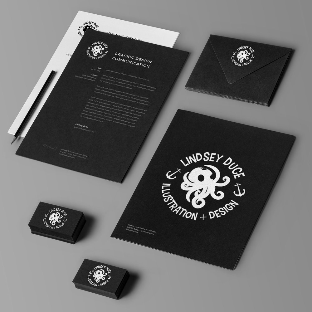 - Graphic design