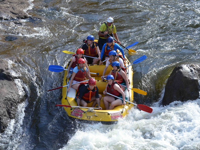 RAFTING - Half Day Barron Rafting or All day Tully Rafting are popular ways of enjoying the beautiful nature of Cairns. We guarantee that you will have a great time rafting in Cairns.