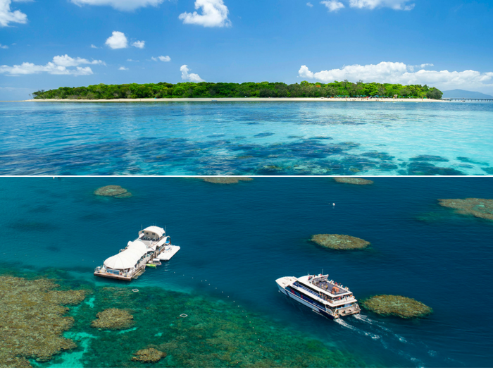 Green Island and Great Barrier Reef - Tour code: GIOUT