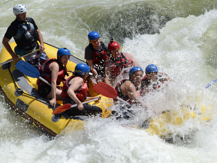 Tully River Rafting - Tour code: TULLY