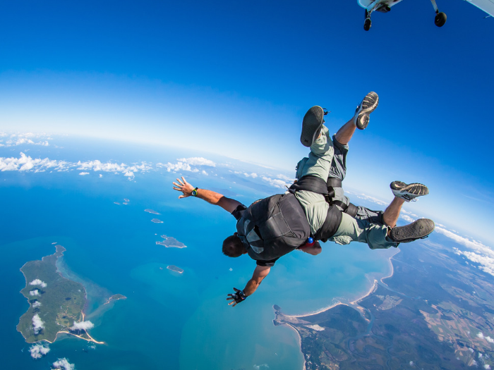 SKYDIVING MISSION BEACH$155〜 -
