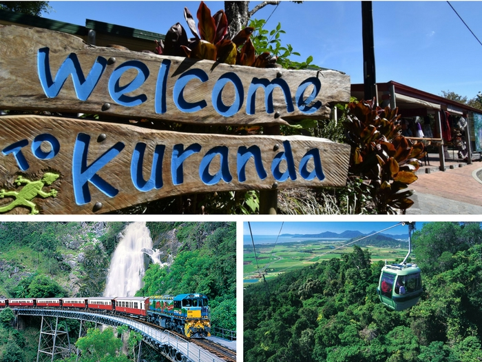 KURANDA(Skyrail & Train & Hotel Transfer) - Tour code: KFD