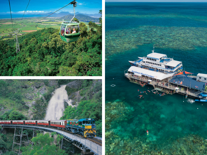 Kuranda &Sunlover Moore Reef(2 days) - Special Offer $344〜