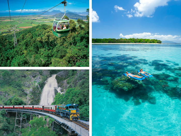 Kuranda & Green Island (2 days) - Tour code: KFDECO