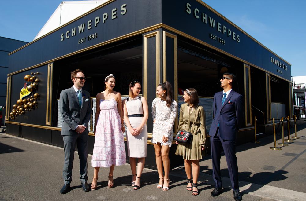 schweppes - Spring Racing Birdcage