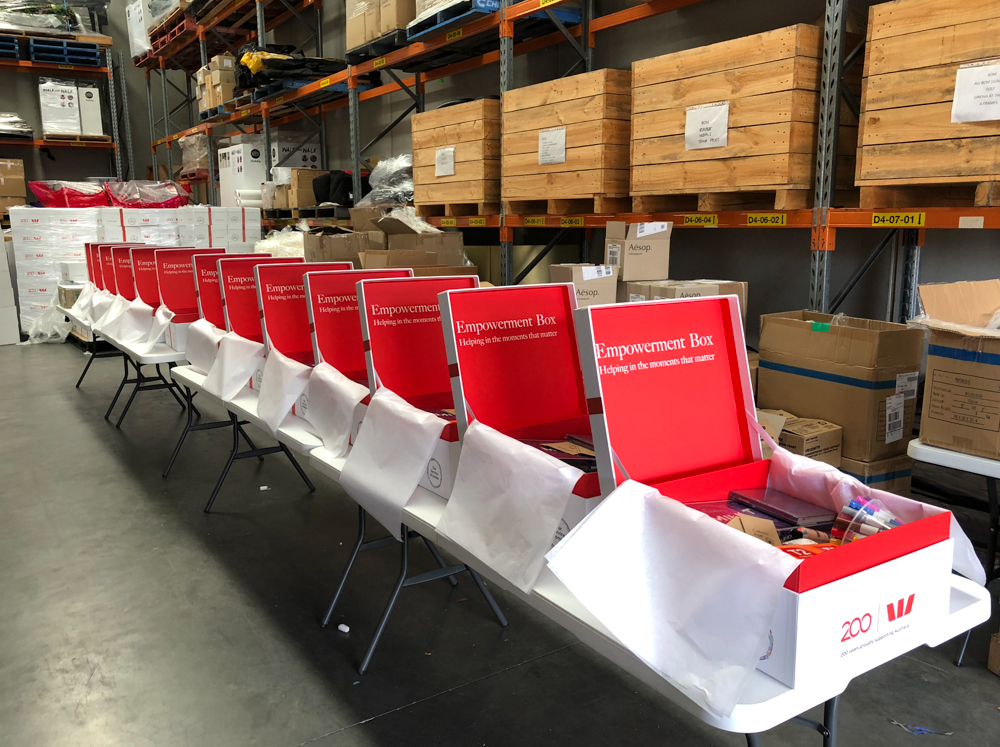 westpac - Empowerment boxes