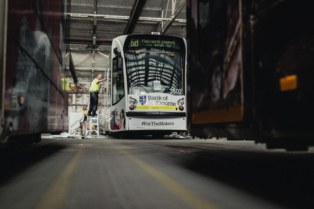 BANK OF MELBOURNE - Yarra Trams