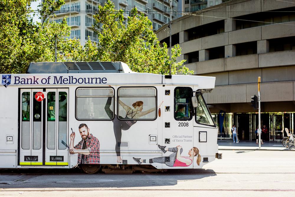 Willett Bank of Melbourne Yarra Trams