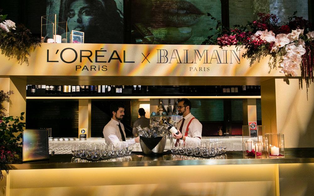 Willett L'Oreal x Balmain Launch