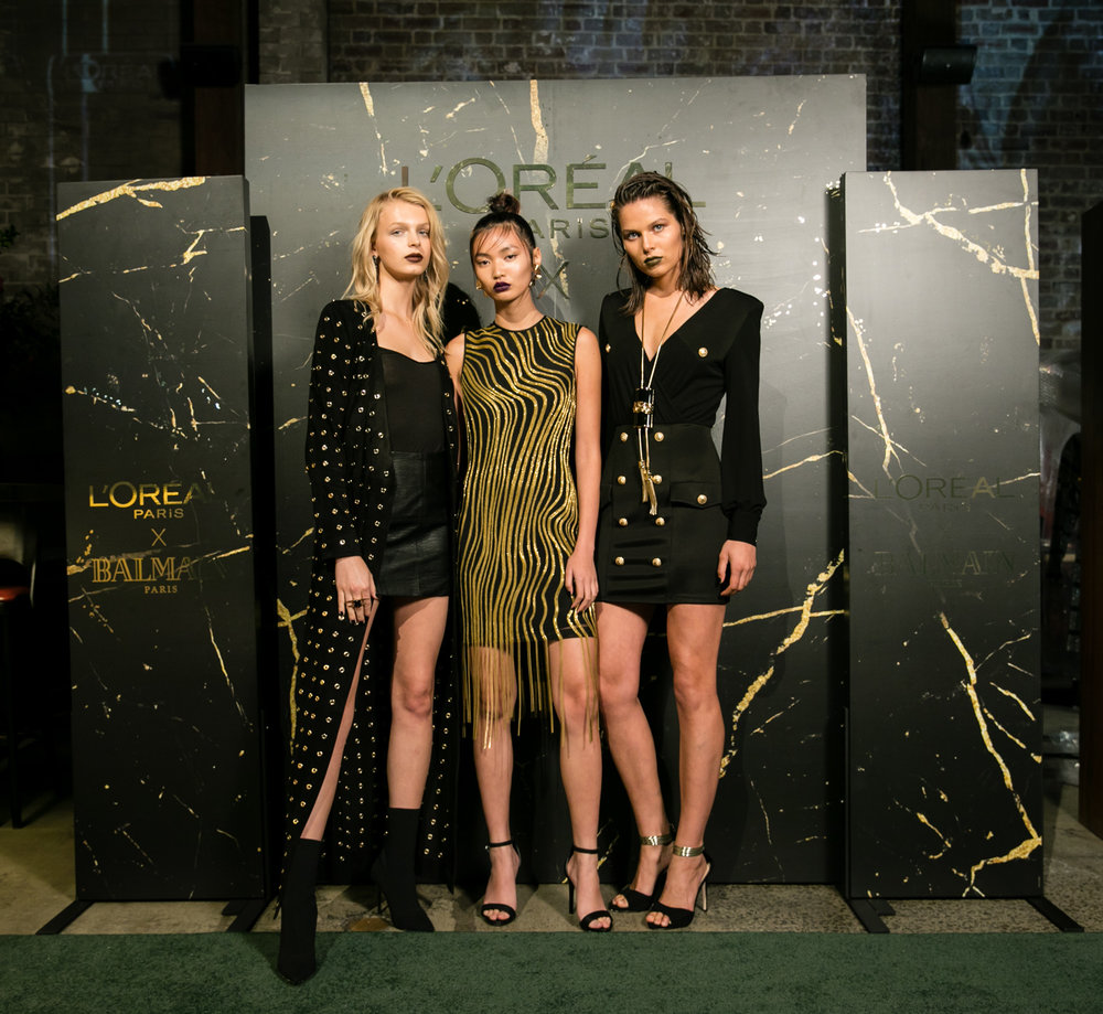 L'Oreal - L'Oreal Paris x Balmain Launch