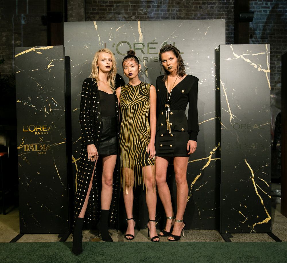 l'oreal - L'Oréal Paris x Balmain Launch