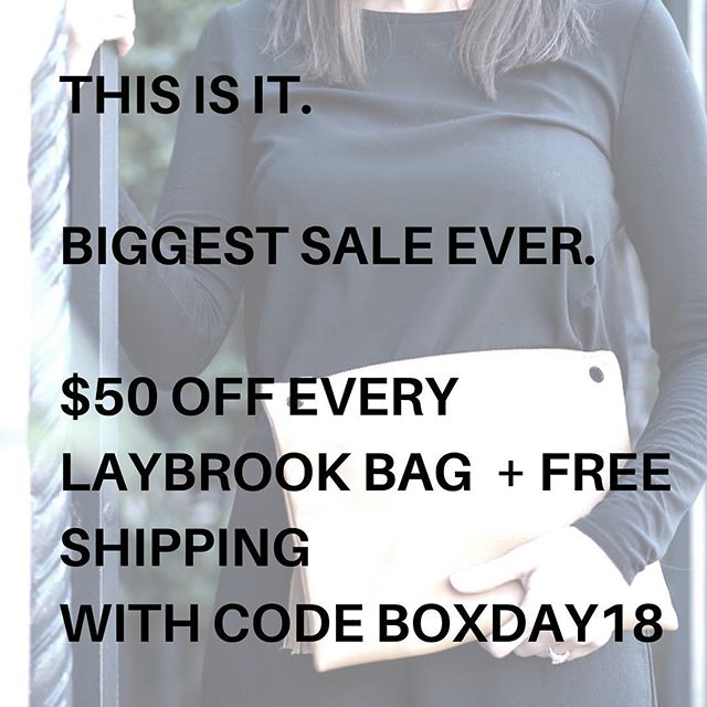 Yep. We have woken up in a food coma full of festive spirit. They won't get any cheaper than this - if you have been thinking about trying the game - changing leather Laybrook clutch bag here is your best chance! . Only on offer while stocks last! . #getinquick #boxingday #christmassales #boxingdaysales #mum #mumlifemumstyle #stylishmum #mumsgonewild #shopping #leatherbag #oram #pramorganiser #organisedmum #parent #laybrook