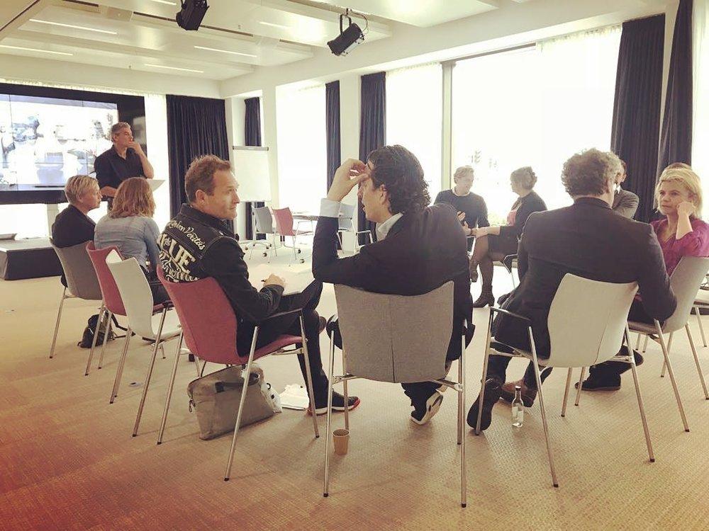 De sessie vond plaats in Epicenter Amsterdam